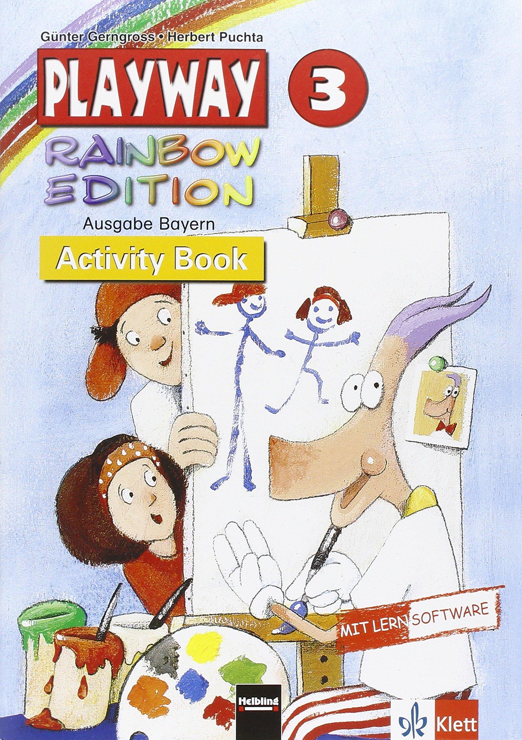 Playway. Für den Beginn ab Klasse 3/Ausgabe für Bayern - Level 3: Activity Book mit CD-ROM
