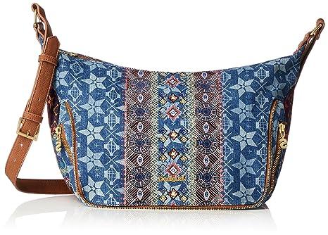 Damen Handtasche Tasche Schultertasche FLY PATCH SOMALIA Kunstleder Braun 18SAXPDS-6011 Desigual 5zuEiJxUw
