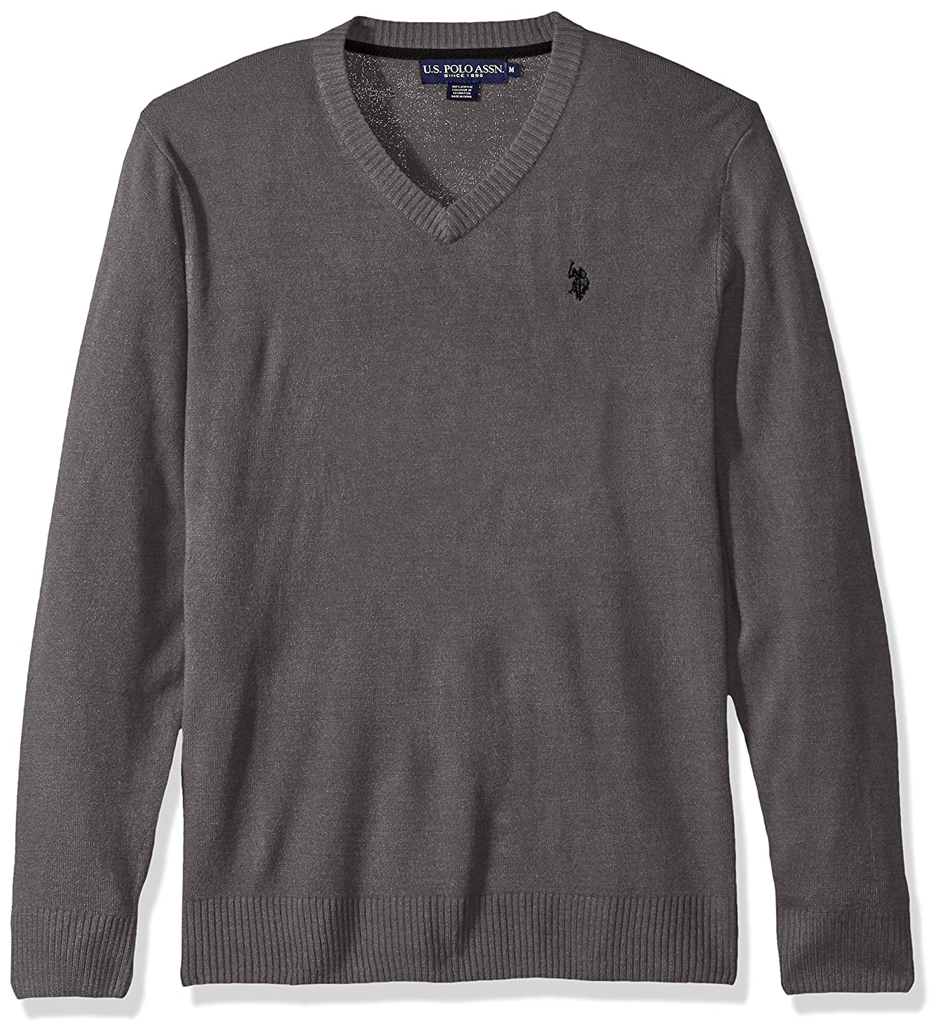 U.S. Polo Assn. Men's Solid V-Neck Sweater ACUF7S5070