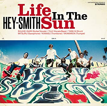 amazon life in the sun 通常盤 hey smith j pop 音楽