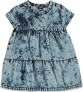 Noppies M/ädchen G Dress Sl Maltby STR Kleid