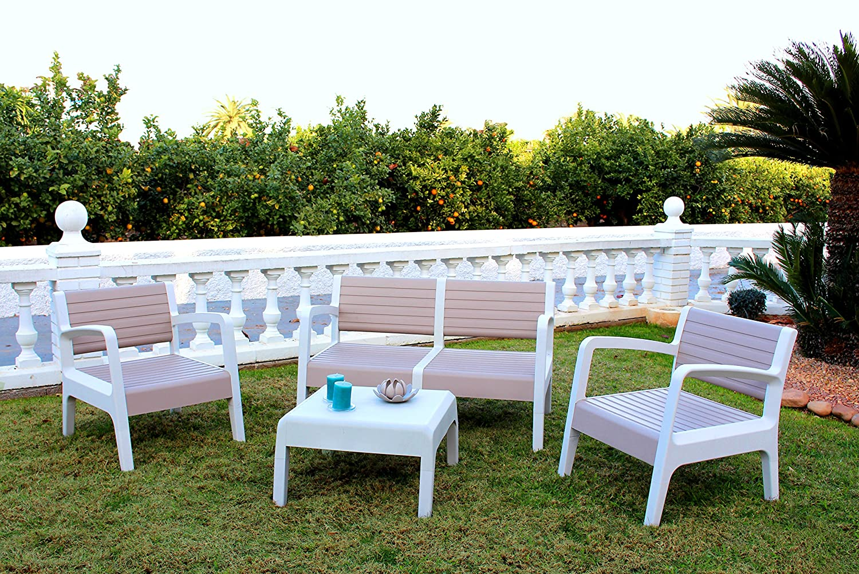 Muebles De Jardin De Plastico Perfect Muebles De Jardin Resina Si  # Muebles Para Jatdin