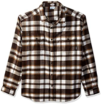 5d0dfe8d3f8 Columbia Men's Deschutes River Heavyweight Flannel, bark Multi Plaid, ...