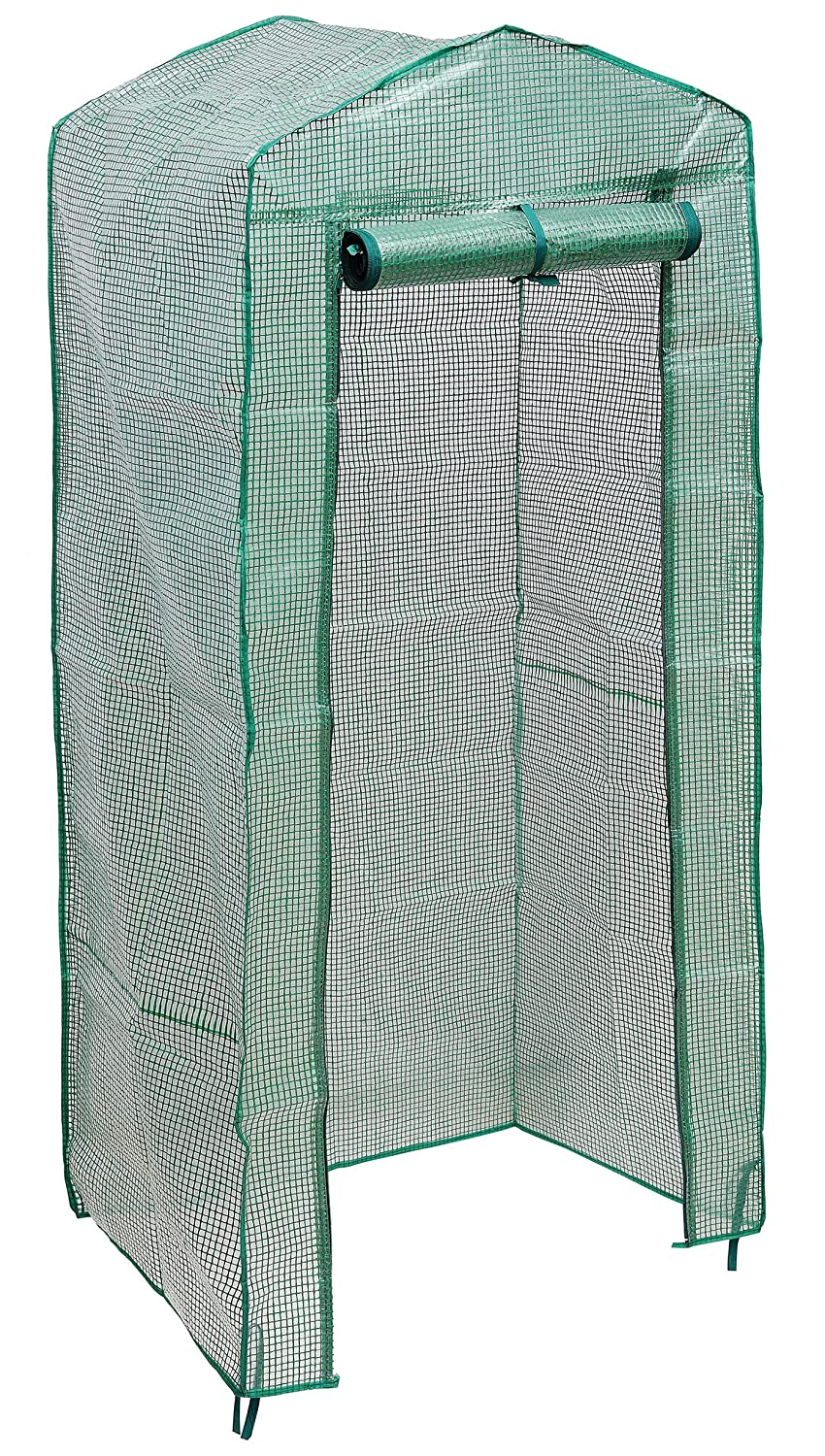 NKTM 4-Tier Mini Greenhouse Replacement Cover,Outdoor Compact Walk-in Greenhouse 27 Long x 18 Wide x 63 High FRAM NOT Include