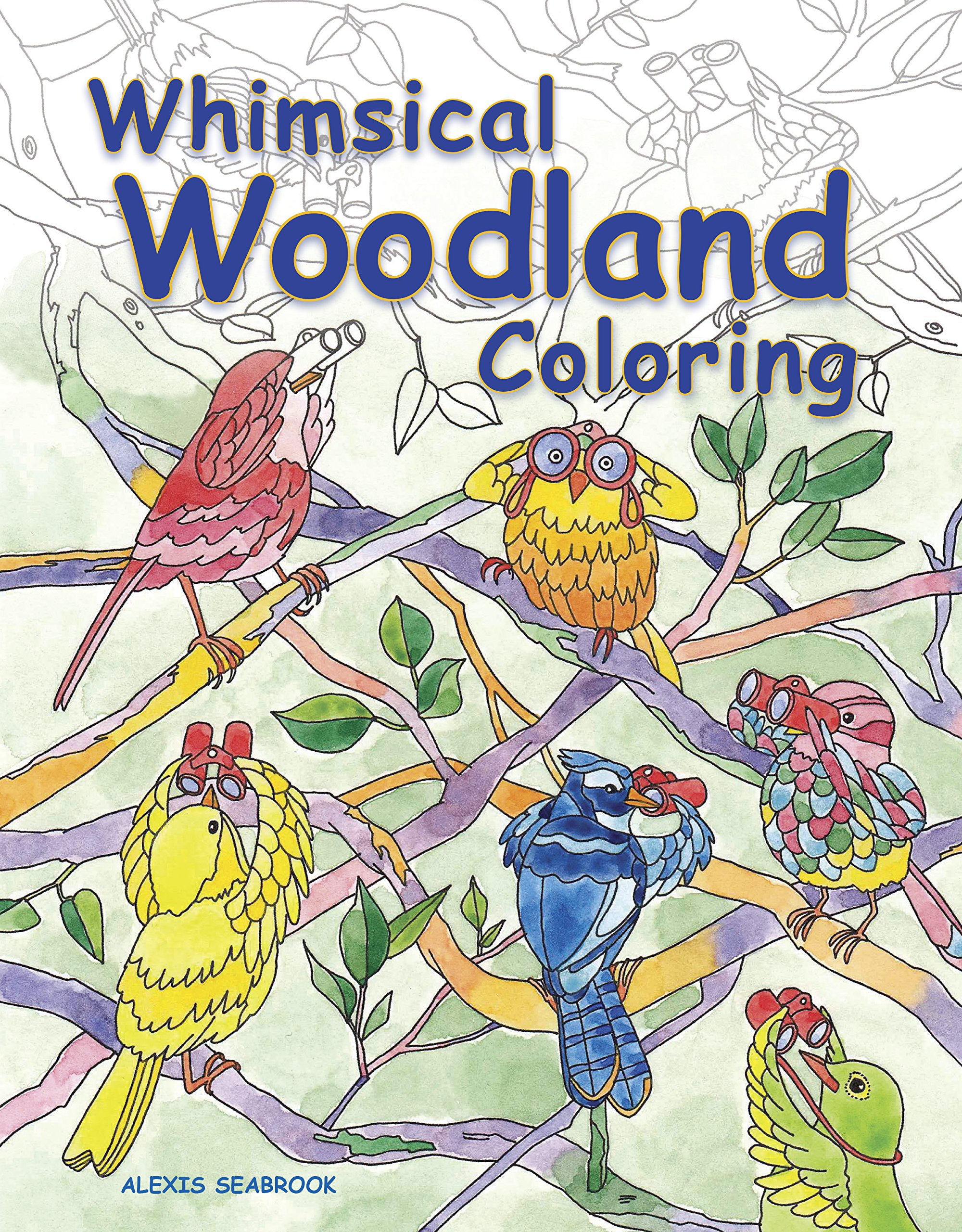 whimsical-woodland-coloring