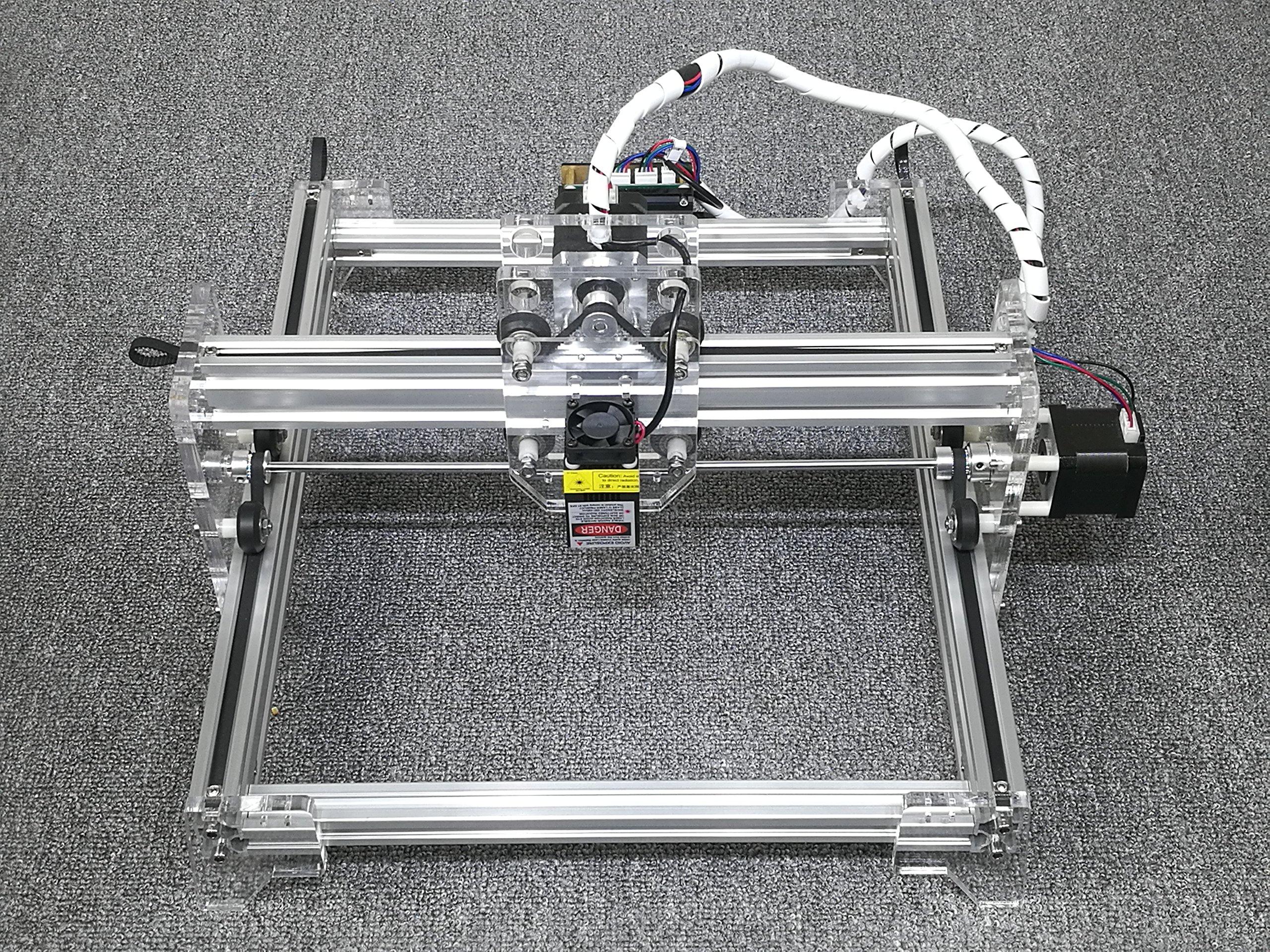 DIY 7000mw laser engraving machine / Laser Engraver/ stainless steel engraving machine / stone engraving machine / metal engraving machine Working Area:21cm25cm