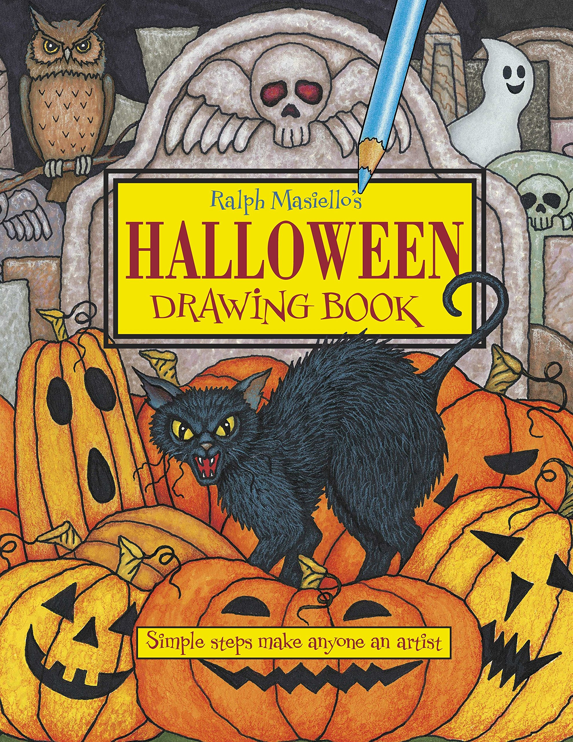 Ralph Masiello's Halloween Drawing Book (Ralph Masiello's Drawing Books)