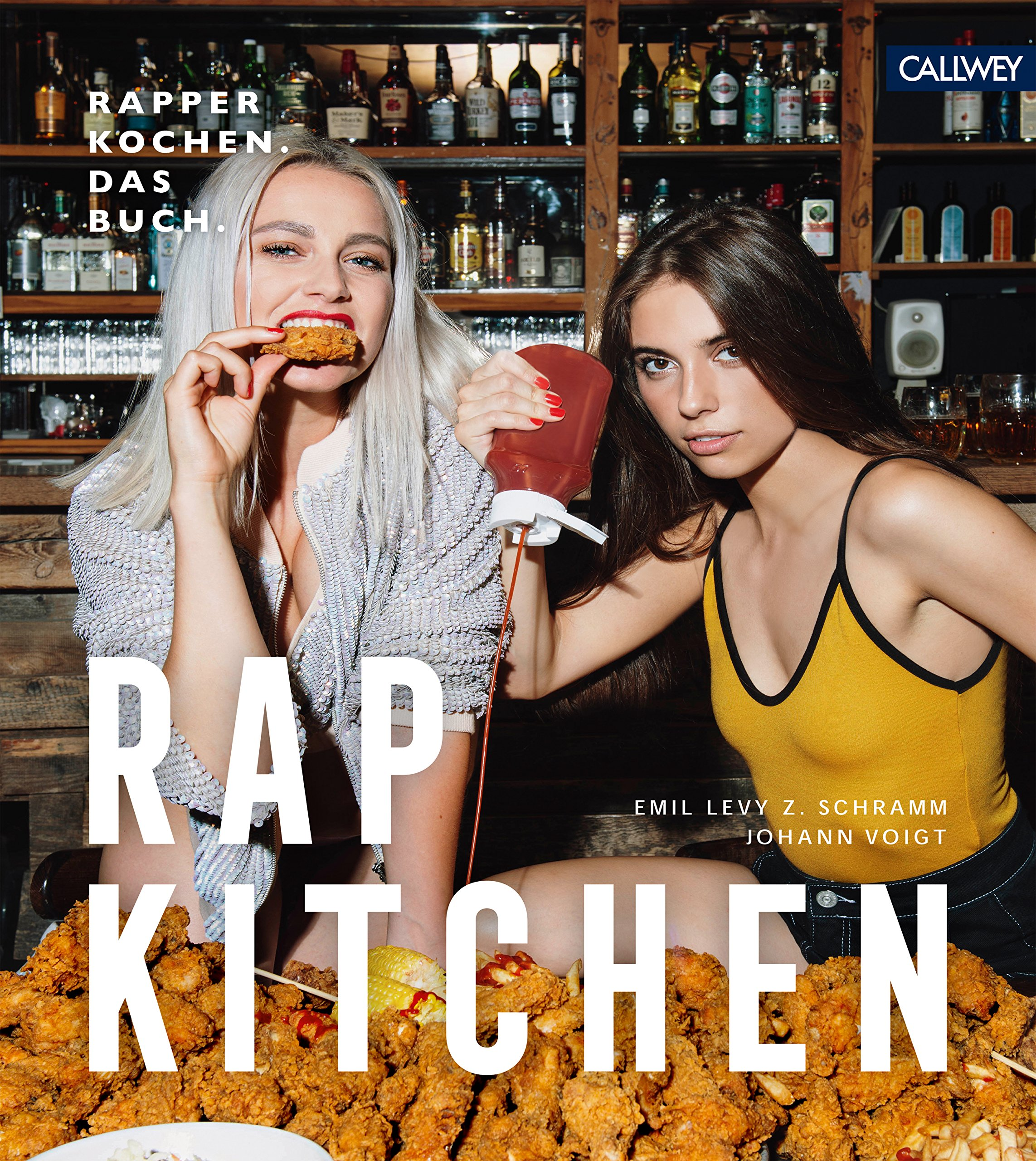 Rap Kitchen: Rapper kochen. Das Buch. Gebundenes Buch – 8. September 2018 Walk This Way Records Johann Voigt Emil Levy Z. Schramm Callwey
