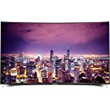 Grundig Fine Arts FLX 9591 BP 139 cm (55 Zoll) Curved Fernseher (Ultra-HD, Triple Tuner, 3D, Smart TV)