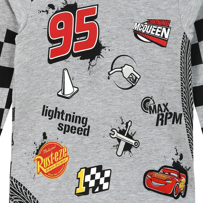 Disney Cars Cars Gar/çon T-Shirt /à Manches Longues