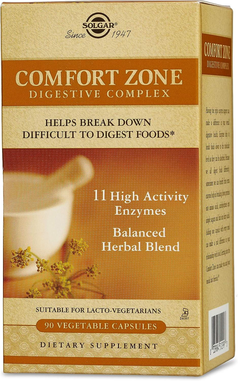 Solgar – Comfort Zone Digestive Complex, 90 Vegetable Capsules