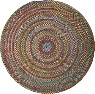 product image for Colonial Mills Rustica Round Braided Rug, 10', Classic/Multicolor