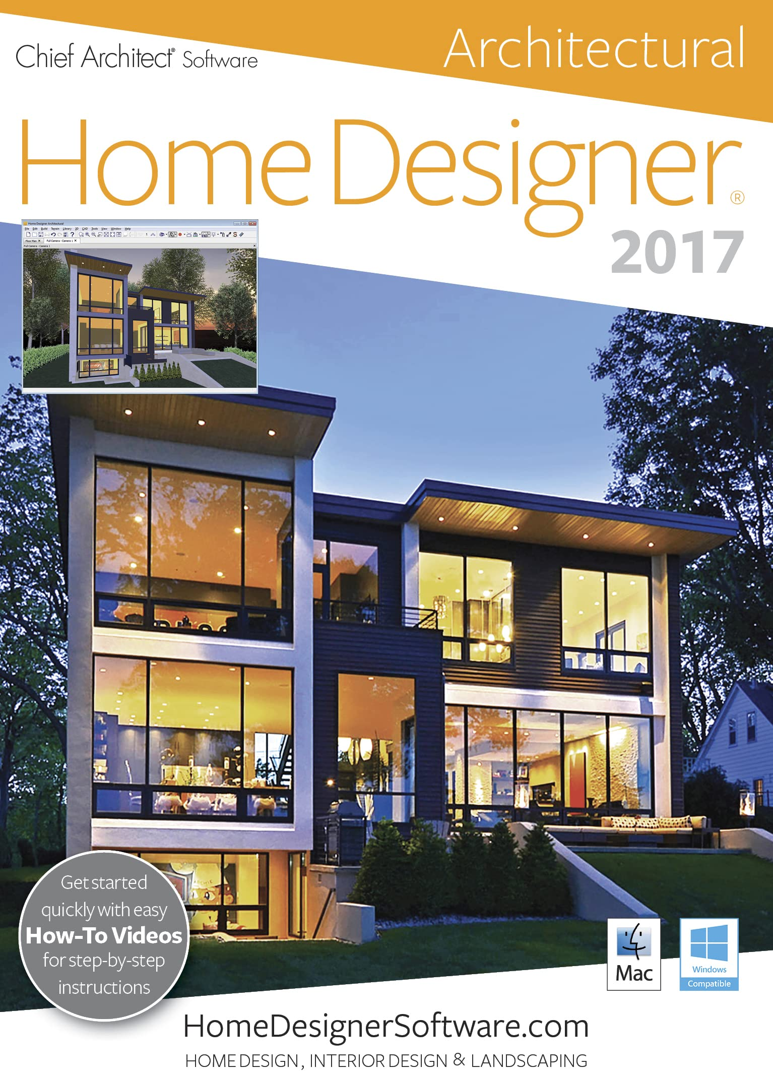 Home Designer Architectural 2017 Download product image