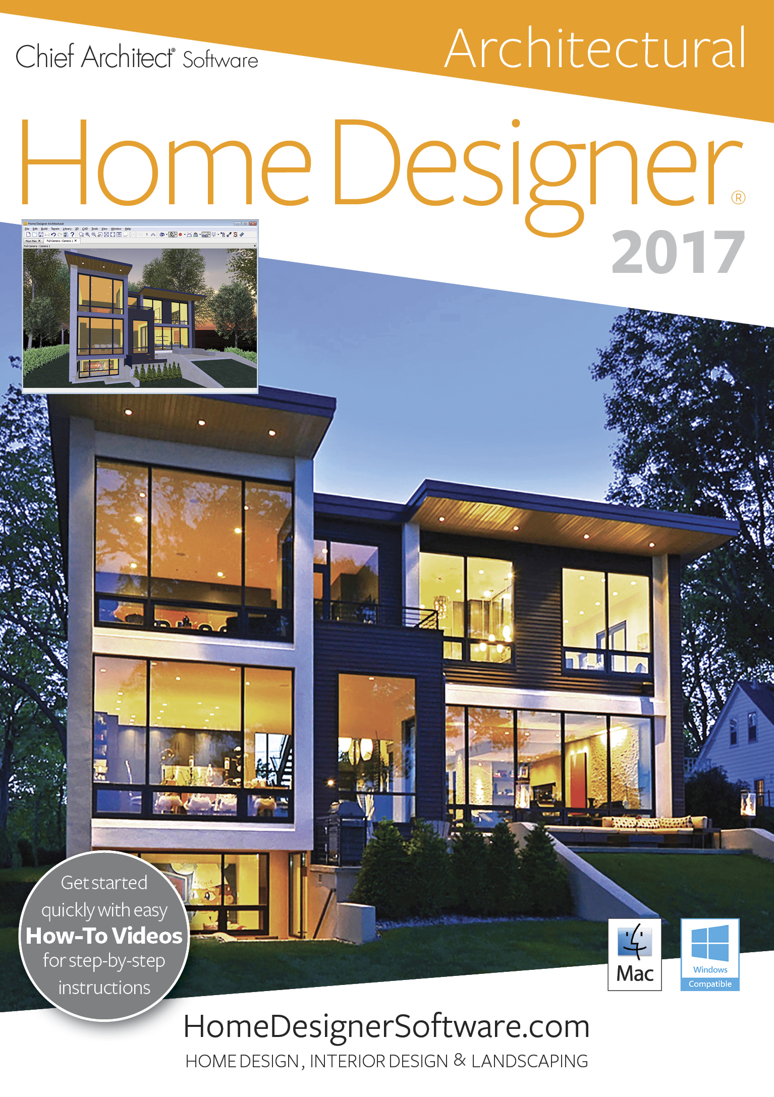 Amazon.com: Chief Architect Home Designer Architectural 2017 [Download]:  Software
