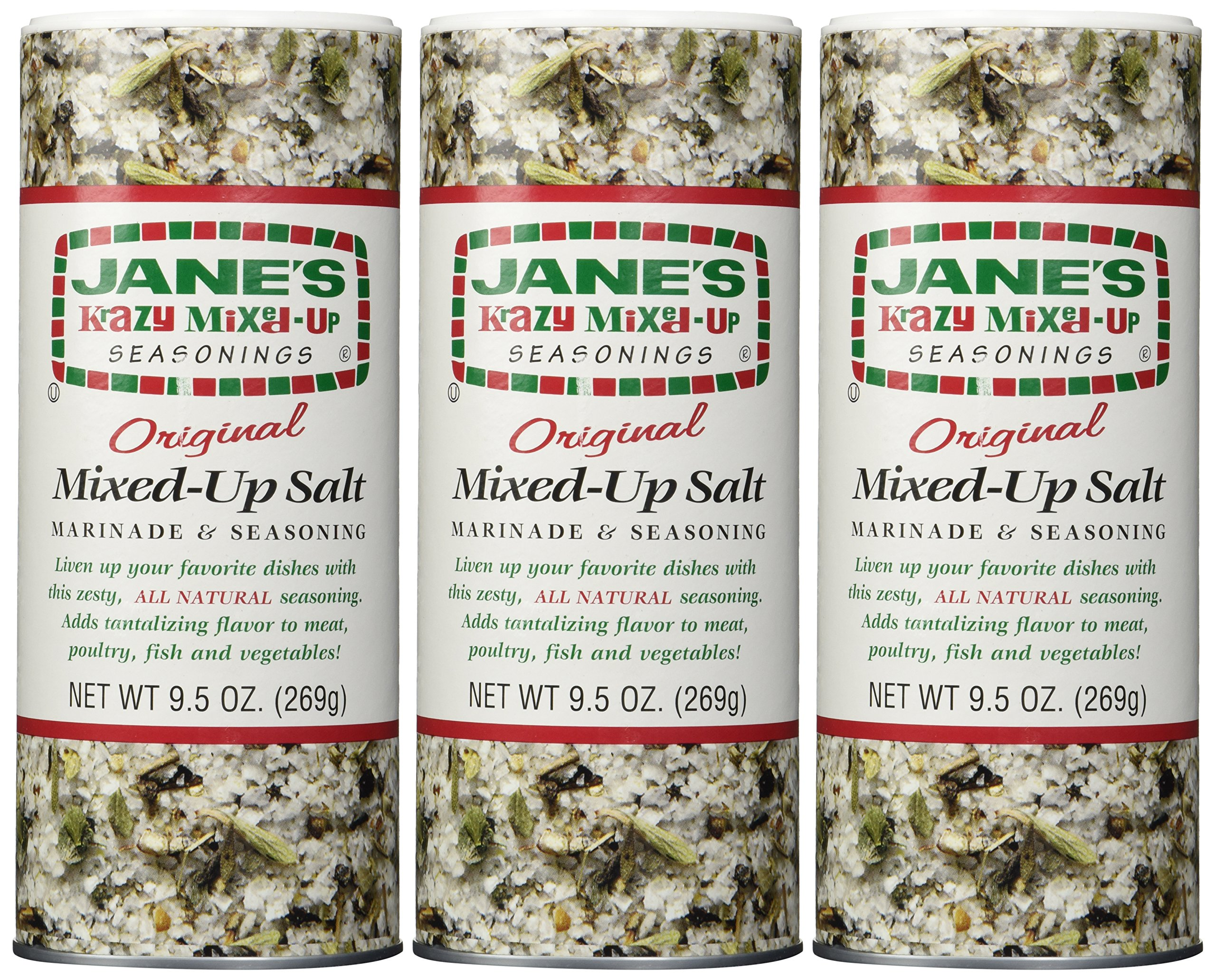 Jane's Krazy Mixed-Up Original Salt Blend 9.5 oz (Pack of 3) by Jane S (Image #1)