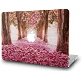 "KEC Laptop Case for MacBook Pro 13"" (2018/2017/2016) Plastic Hard Shell Cover A1989/A1706/A1708 Touch Bar (Cherry Blossoms)"