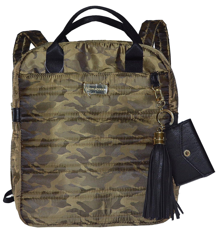 9c69b75b08 Steve Madden Camo Celeste Backpack Bag Handbag Back Pacn: Amazon.co.uk:  Shoes & Bags