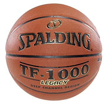 Amazon.com : Spalding TF-1000 Legacy Indoor Composite Basketball ...
