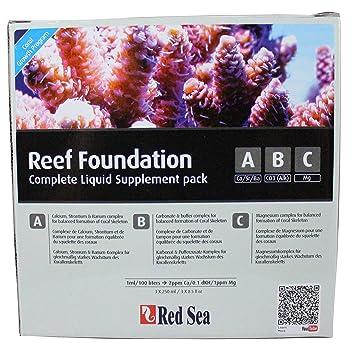 Red Sea r22006 Reef Foundation Juego completo A B C para Coral: Amazon.es: Productos para mascotas