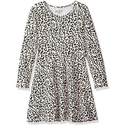07e74852930d The Children's Place Little Girls' Sleeveless Dressy Dresses, Tumbleweed  94329, S (5/6)