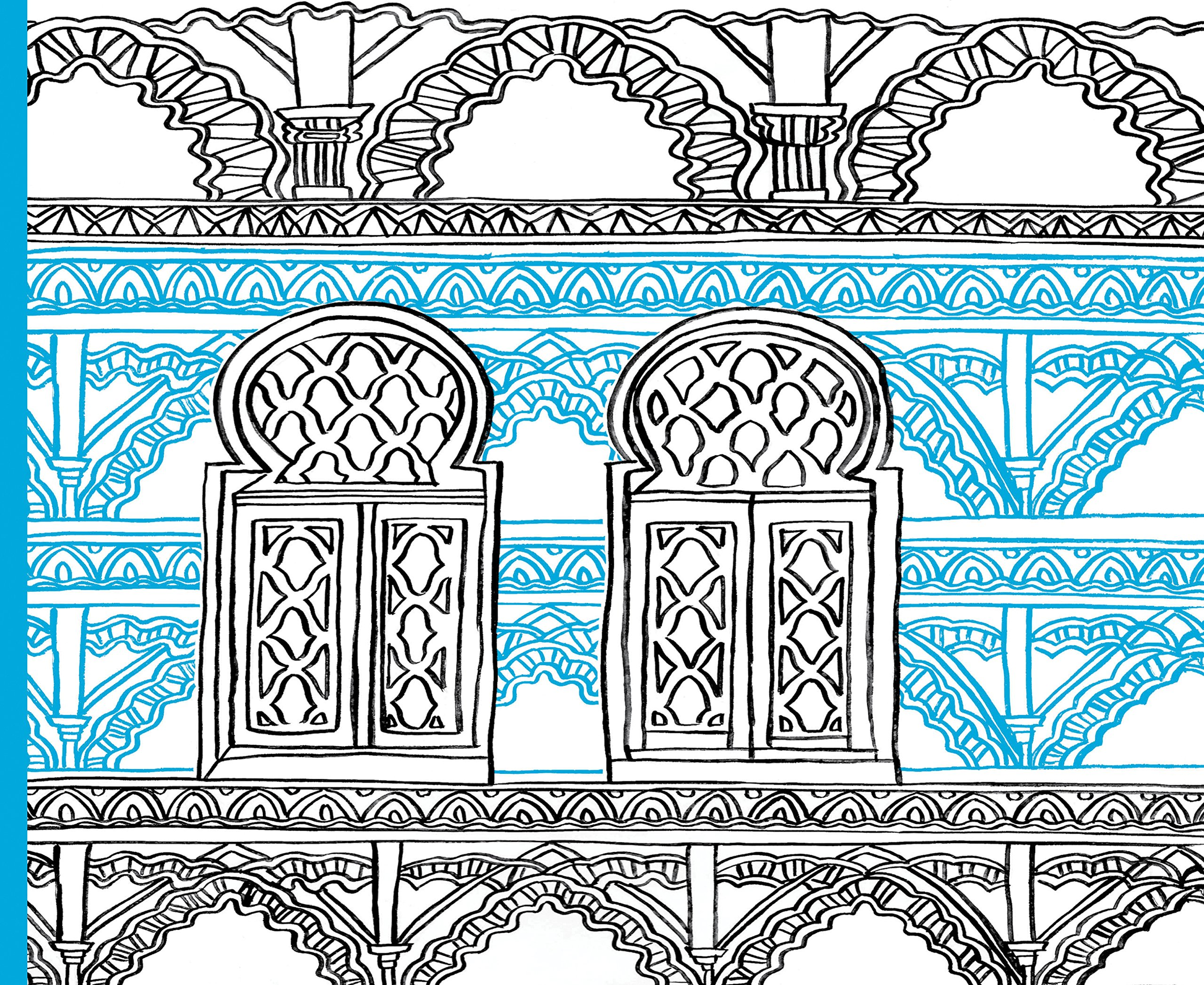 Journey in Color: Moroccan Motifs Coloring Book: Molly Hatch ...