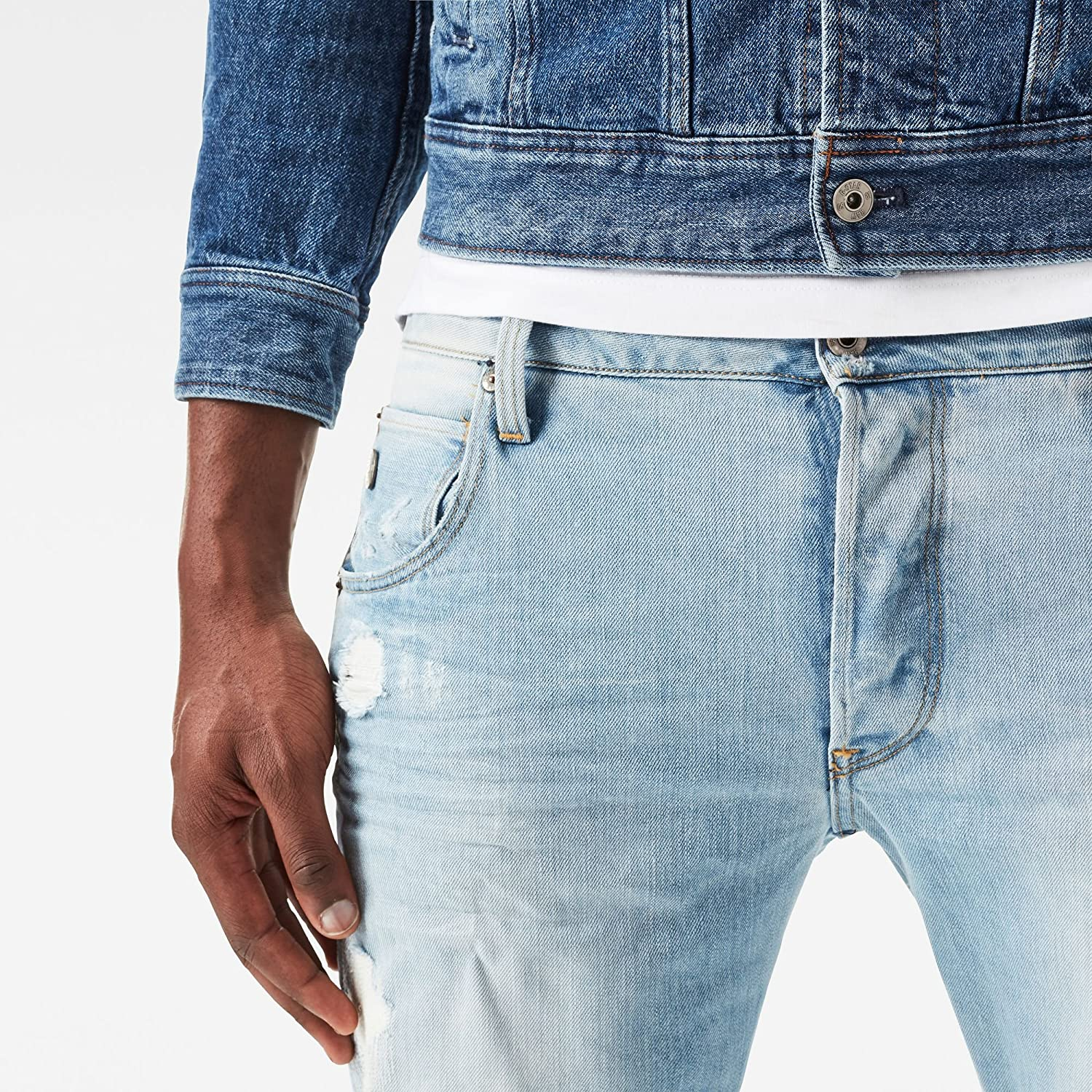 Amazon.com: G-Star Raw Arc 3d Slim-fit Jean hombre en Wisk ...