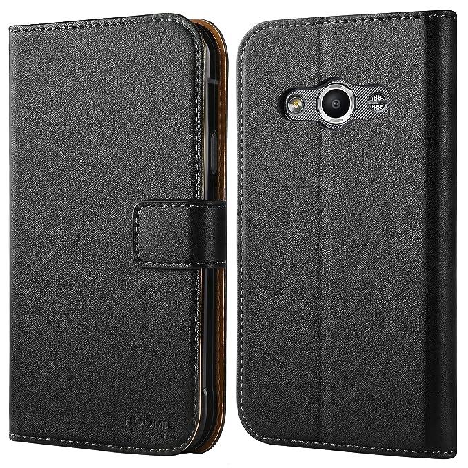 4 opinioni per HOOMIL Cover Galaxy Xcover 3, Flip Caso in Pelle Premium Portafoglio Custodia