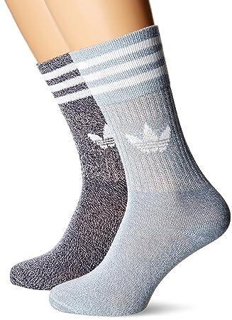Adidas Solid Crew Mela Calcetines, Hombre, Gris (Tinley/Azutac), 31/34: Amazon.es: Deportes y aire libre