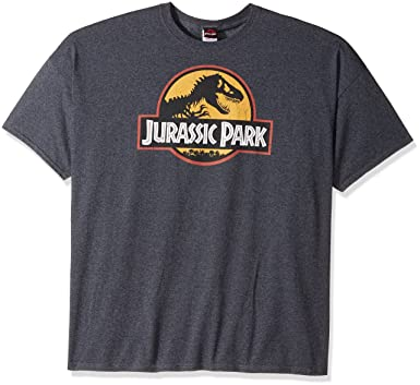 5e060574 Amazon.com: Jurassic Park Logo Men's T-Shirt: Clothing