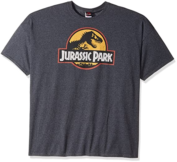 Amazon Com Jurassic Park Logo Men S T Shirt Clothing