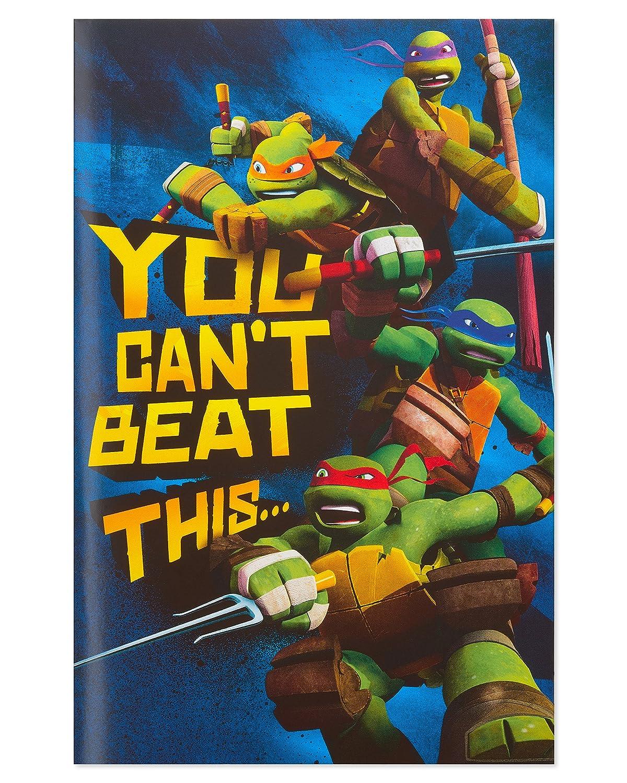American Greetings Teenage Mutant Ninja Turtles Birthday Card for Boy