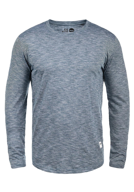 !Solid Ligos Herren Longsleeve Langarmshirt Shirt Mit Rundhalskragen Aus 100% Baumwolle