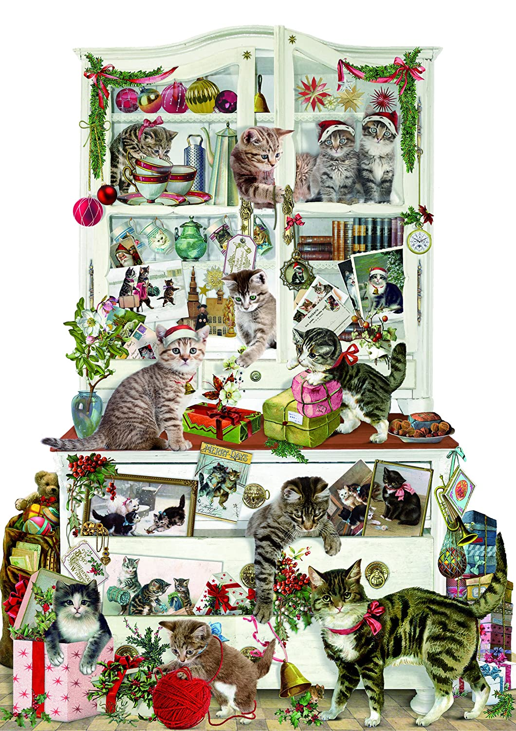 Coppenrath Advent Calendar 'Mischievous Christmas Cats' Traditional