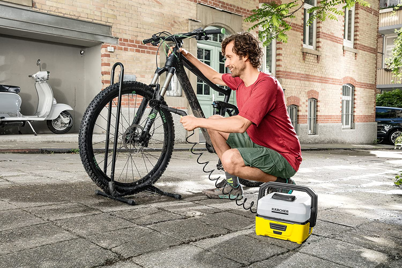 Mobiler Hochdruckreiniger: für die Fahrradwäsche + weitere Arten | Die 4 beliebtesten Produkte 2021