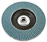 Forney 71933 Flap Disc, Type 29 Blue Zirconia with