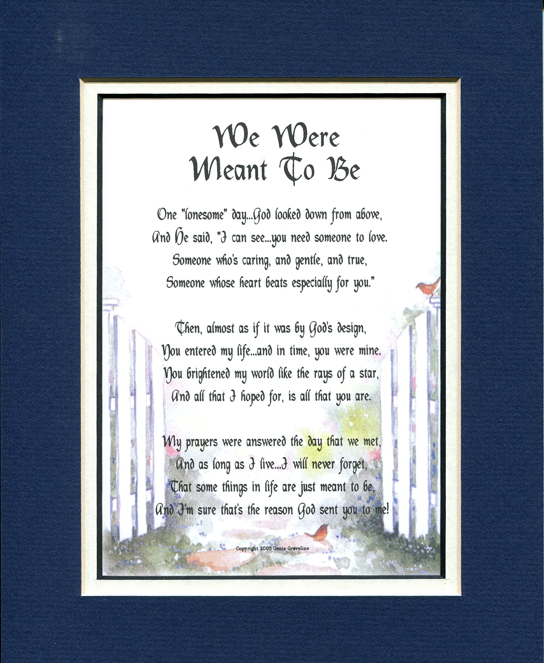 #214 A Valentine Day Gift Present For A Girlfriend, Boyfriend, Wife Or Husband. A Poem About Love, More Color Options