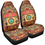 Amazoncom Gnarly Tees Tie Dye Car Seat Covers Automotive