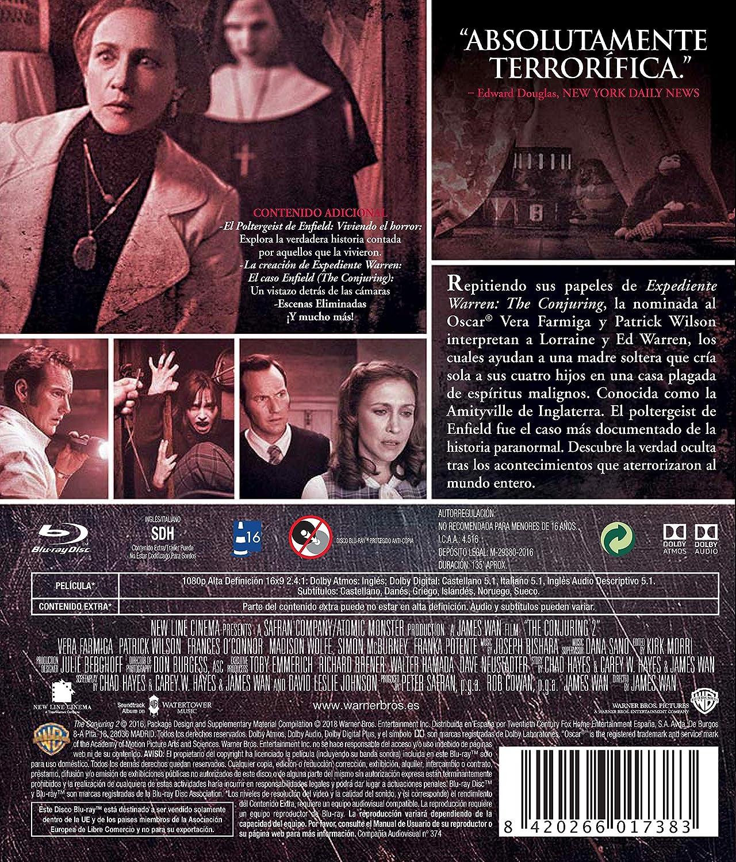 Expediente Warren: El Caso Enfield The Conjuring - Halloween Blu-Ray Blu-ray: Amazon.es: Vera Farmiga, Patrick Wilson, Madison Wolfe, Lauren Esposito., ...