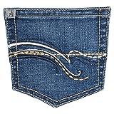 Wrangler Women's Aura Instantly Slimming Jean, Blue