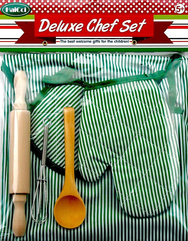Deluxe 6-Piece Child Chef Set