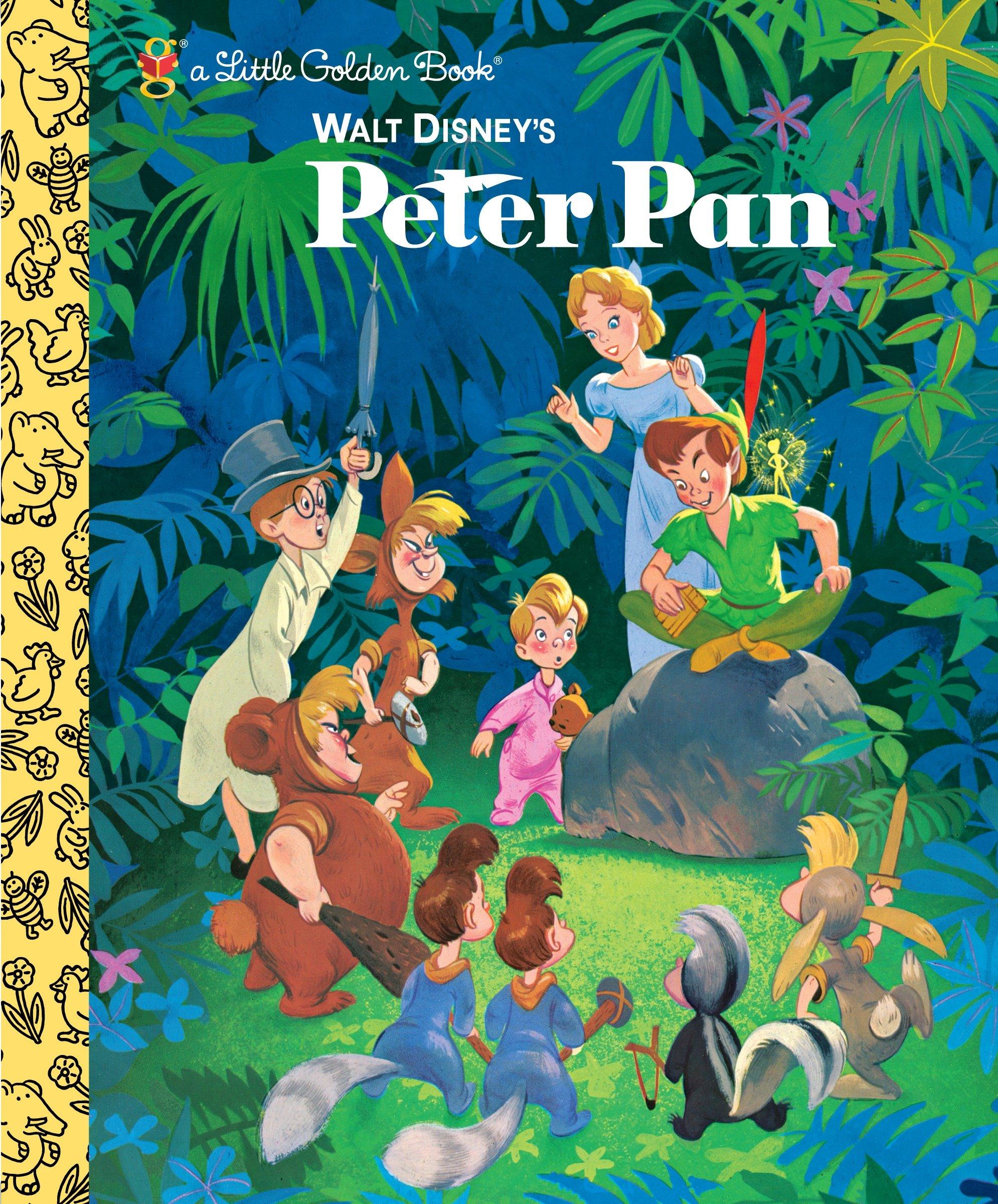 Walt Disney's Peter Pan (Disney Classic) (Little Golden Book)
