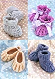 Sirdar Baby Snuggly 4 Ply Booties & Shoes Knitting Pattern 1487