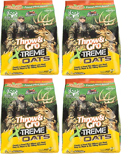Evolved Harvest Throw /& Gro Xtreme Oats Deer Food Plot Seed New