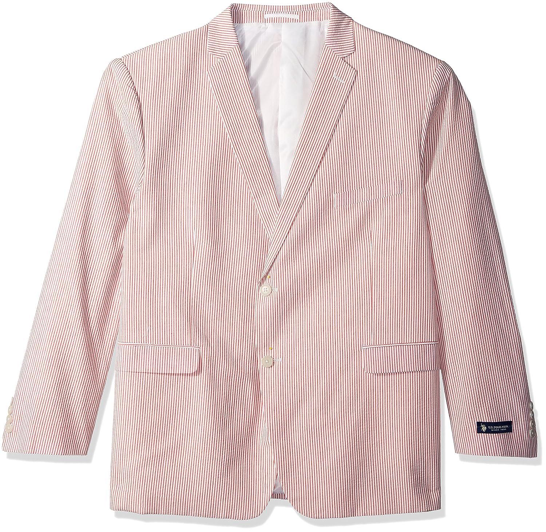 U.S. Polo Assn. Mens Seersucker Nested Suit U.S. Polo Assn. Men' s Tailored RAD35