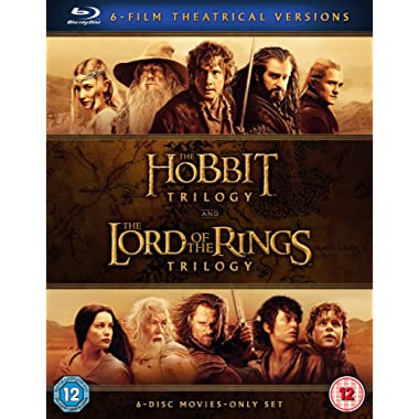 Middle Earth -  Six Film Theatrical Version 2016  Region Free