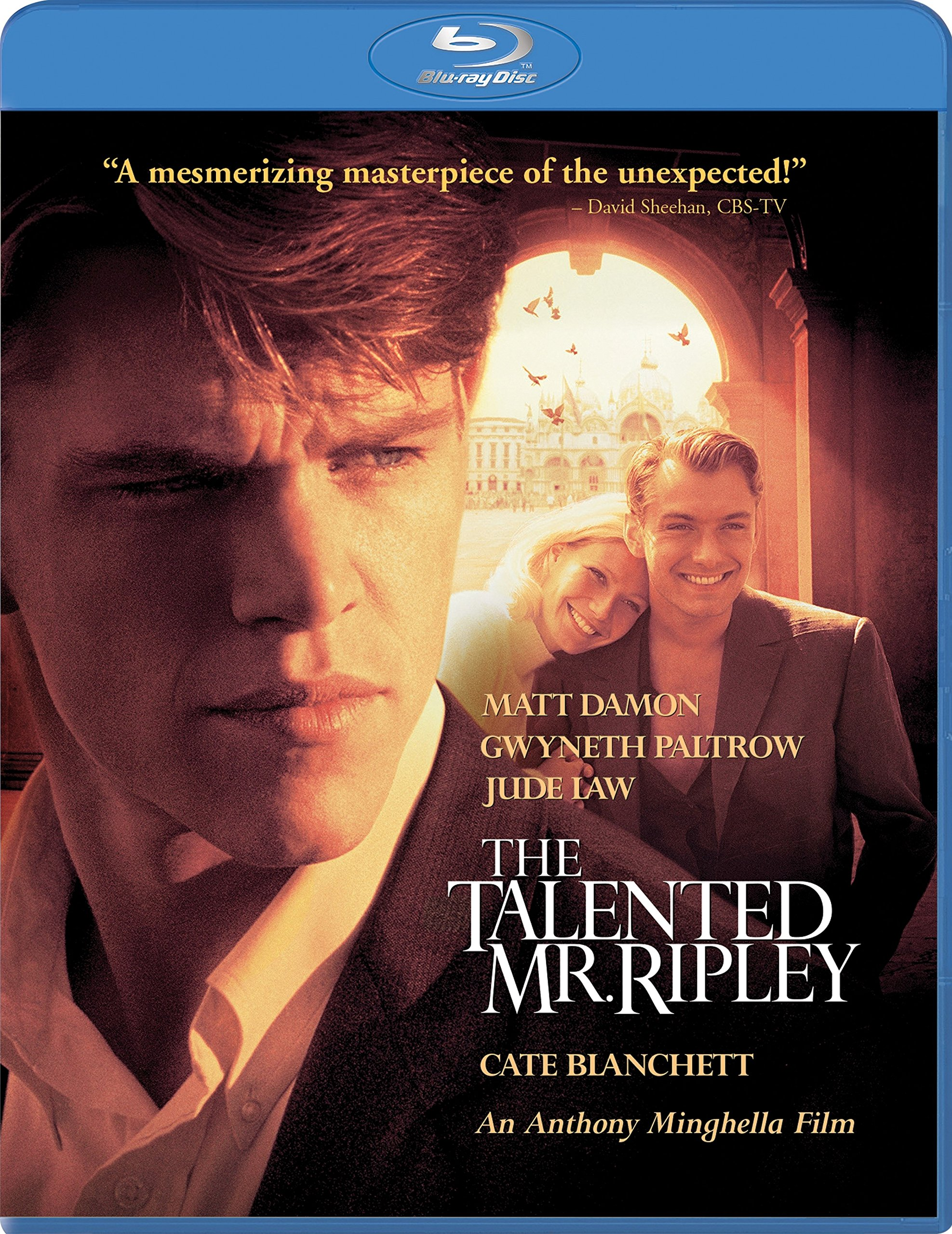 Blu-ray : The Talented Mr. Ripley (Widescreen, Dolby, AC-3, True-Hd)