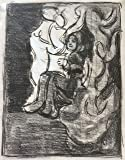 Portrait of a woman reading a