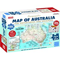 Blue Opal Adventures & Dreamers Map Puz 1000pc,Adult Puzzles