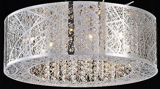 Bird nest flush mount pendant chandelier lamp drum inca laser cut bird nest flush mount pendant chandelier lamp drum inca laser cut shade crystal inside dia 20quot mozeypictures Images