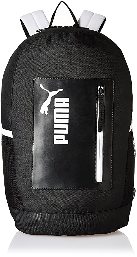 ccdfd1bc8673 Puma 24 Ltrs Black-White Casual Backpack (7511603)  Amazon.in  Bags ...